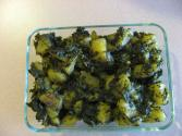 Aloo Palak Methi Fry